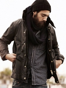 lumbersexual look