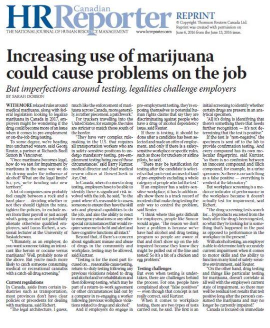 Drug Testing & Enforcement